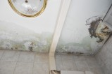 soffitto casa balcone con canalina plastica