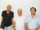 Fulvio Magnani, Virgilio Consoli e Maurizio Russo