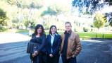 L'Assessore Estella Marino e il Comitato Discarica Castelverde