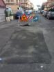Via dei Giardinetti ora la fossa +¿ transennata