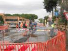 Sono cominciati i lavori Italgas in Via degli Orafi