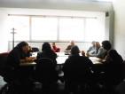 La Commissione Scuola e Cultura con i tecnici trasporto scolastico municipali