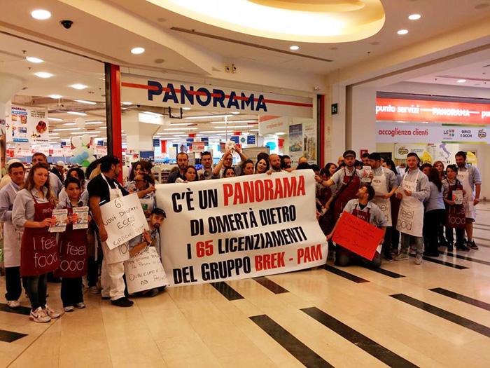 Centro commerciale roma est nuova ondata di protesta per for Centro convenienza arredi roma est