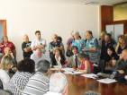 Commissione Urbanistica capitolina in Largo Loria 3