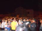 Manifestanti a contatto con le Forze dell'Ordine
