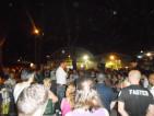 Oliano Rossi Presidente Cdq Torre Angela parla ai manifestanti