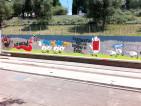 collina della pace murales
