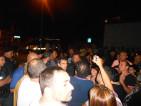 corcolle Dirigente Commissariato Casilino Zerilli parla con i manifestanti