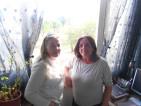 Claudia Pastorboni e Carla Giuliani, residenti ai civici 15 e 45