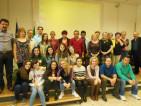 Foto gruppo docenti e studenti Erasmus