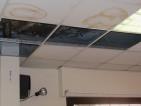 Danni soffitto centro anziani Casilino 23