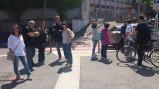 Cittadini di Torpignattara e Pigneto riuniti per protesta  sui rifiuti