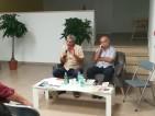 Roberto Catracchia, segretario dell'Anpi circolo Nascimben e Fabrizio De Santis, Segretario provinciale
